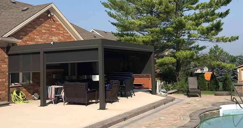 electric patio screens
