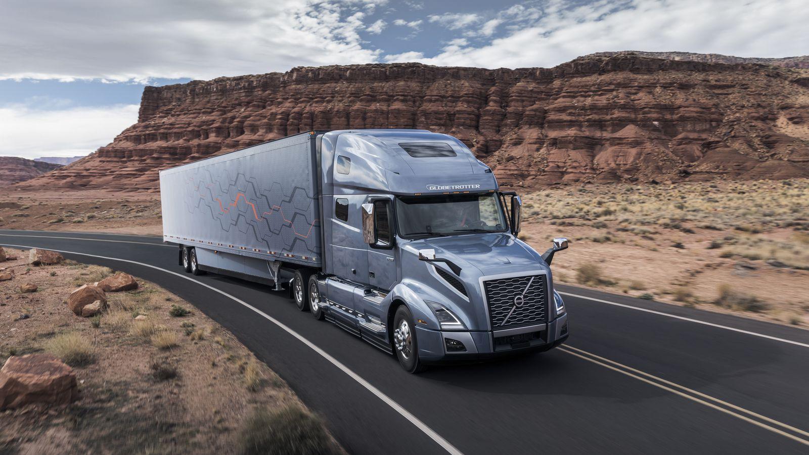 Volvo-Semi-Truck